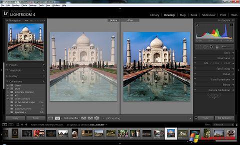 Снимак заслона Adobe Photoshop Lightroom Windows XP