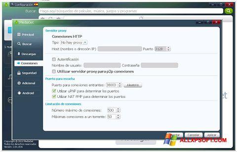 Снимак заслона MediaGet Windows XP