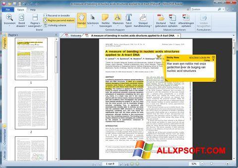 Снимак заслона Nitro PDF Reader Windows XP