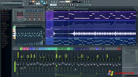 Снимак заслона FL Studio Windows XP