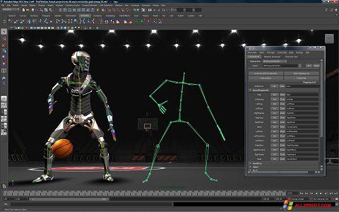 Снимак заслона Autodesk Maya Windows XP