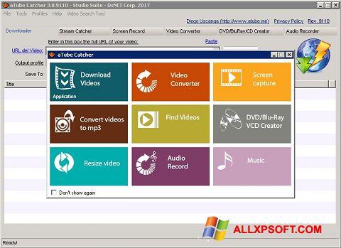 Снимак заслона aTube Catcher Windows XP