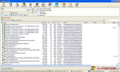 Снимак заслона eMule Windows XP