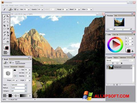 Снимак заслона Artweaver Windows XP
