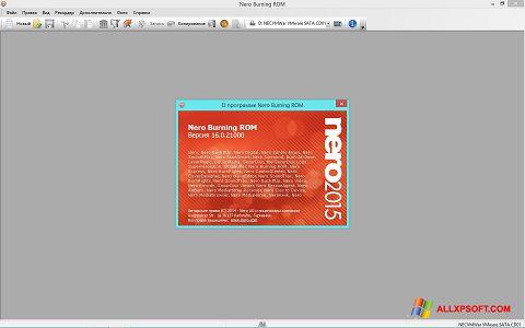 Снимак заслона Nero Windows XP