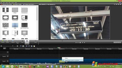 Снимак заслона Camtasia Studio Windows XP